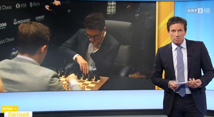 ORF im Haus des Schachsports