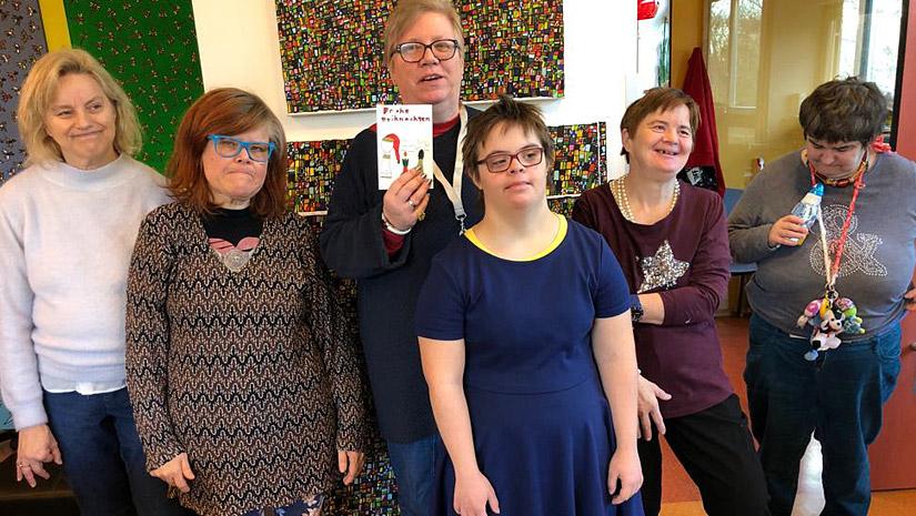 Weihnachtskarten Cyaritas Tagesstätte Rannersdorf