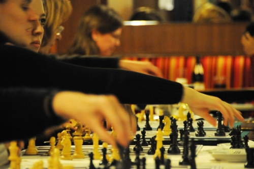 Frau Schach Abend im Cafe Schopenhauer