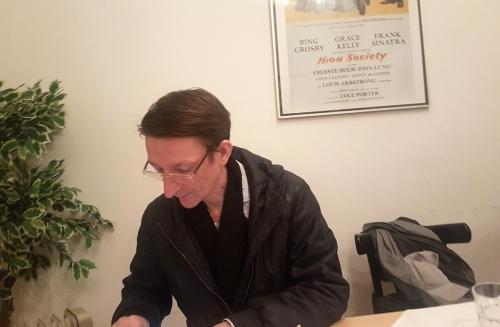 IM Reinhard Lendwai, Obmann-Stv. Währing und österreichischer Spitzenspieler