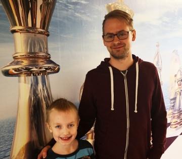 Lukas -Turniersieger IM Georg Fröwis